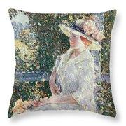 Portrait Of Miss Weir Throw Pillow
