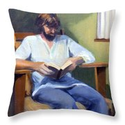 Portrait Study 1984 Throw Pillow