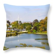 Portsmouth Nh Pnhp Throw Pillow