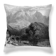 Portugal: Cintra, 1832 Throw Pillow