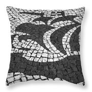 Portuguese Caravel Throw Pillow