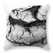 Portuguese Corn Bread Throw Pillow