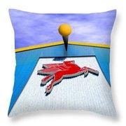 Poseidon's Steed Throw Pillow