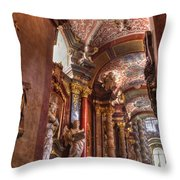 Posnan - St Stanislaus Church Throw Pillow