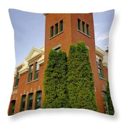Post Office Greenwood Throw Pillow