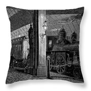 Postal Service, 1875 Throw Pillow
