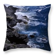 Postcard From Sicily Throw Pillow