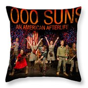 Poster For 1000 Suns - An American Afterlife Throw Pillow