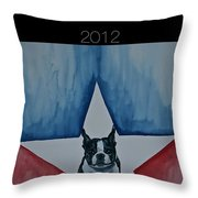 Poster2 Throw Pillow