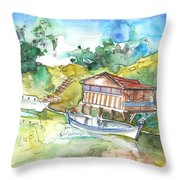 Potamos Liopetri 01 Throw Pillow