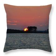 Potomac Sunrise Throw Pillow