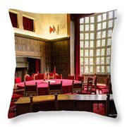 Potsdam Conference Throw Pillow