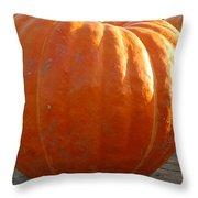Pounds Of Pumpkin  Fun Throw Pillow