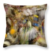 Pow Wow Color Throw Pillow