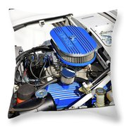 Powered By Ford Throw Pillow