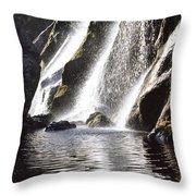 Powerscourt Waterfall, Powerscourt Throw Pillow