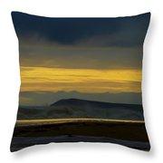 Powlett River On A Stormy Morning Throw Pillow