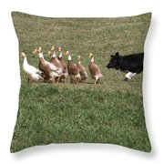 Practice Makes Perfect Throw Pillow