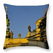 Prague - Strahov Monastery Throw Pillow
