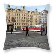 Prague Czech Republic Throw Pillow