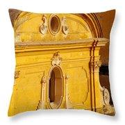 Praiano Church Throw Pillow