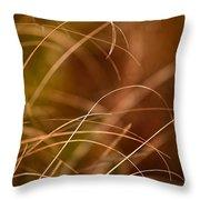 Prairie Grasses Number 4 Throw Pillow