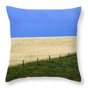 Prairie Horizon Throw Pillow