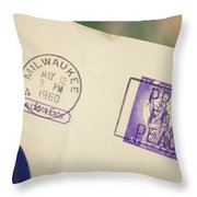 Pray For Peace 1960 2 Throw Pillow