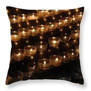 Prayers Of The Faithful Throw Pillow