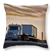 Precious Cargo Throw Pillow