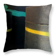Preconstruction Thirteen Throw Pillow