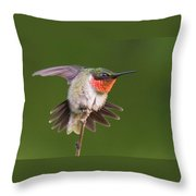 Prepare To Launch Throw Pillow