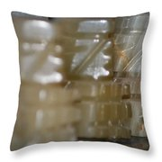 Prepared For Battle Throw Pillow