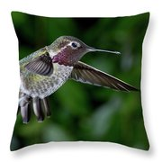Preparing For Attack Throw Pillow