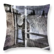 Presant And Future Not Much To Choose Between Throw Pillow