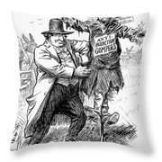 Presidential Campaign, 1908 Throw Pillow
