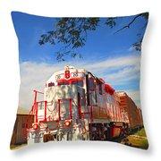 Prettiest Train Ever Throw Pillow