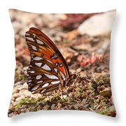 Pretty And Wicked Throw Pillow