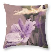 Pretty Bouquet - A05t01 Throw Pillow by Variance Collections