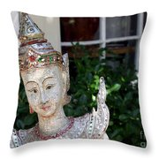 Pretty Garden Throw Pillow