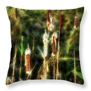 Pretty In A Ditch Throw Pillow