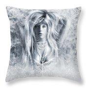 Pretty Storm Throw Pillow