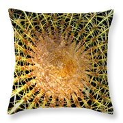 Prickly Pattern Throw Pillow