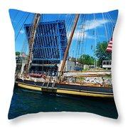 Pride Of Baltimore No. 3 Throw Pillow
