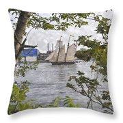 Pride Of Baltimore Pbwc Throw Pillow