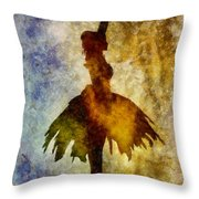 Prima 2 With Border Throw Pillow