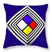 Primary Object Throw Pillow