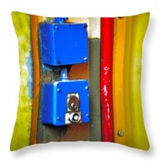 Primary Parts Throw Pillow