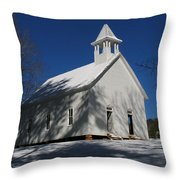 Primitive Methodist Church Throw Pillow