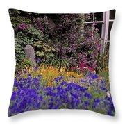 Primrose Hill, Lucan, Co Dublin Throw Pillow